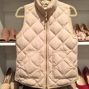 J. Crew Quilted Vest - worn once, like NEW!